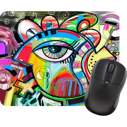 Abstract Eye Painting Mouse Pads