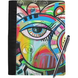 Abstract Eye Painting Notebook Padfolio