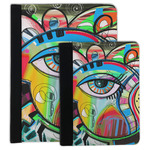 Abstract Eye Painting Padfolio Clipboard