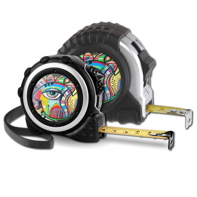 Abstract Eye Painting Tape Measure