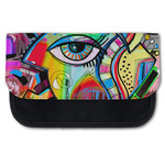 Abstract Eye Painting Canvas Pencil Case