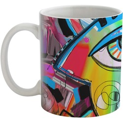 Abstract Eye Painting Coffee Mug