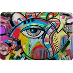Abstract Eye Painting Comfort Mat