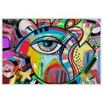 Abstract Eye Painting Laminated Placemat