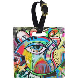 Abstract Eye Painting Luggage Tags