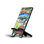 Abstract Eye Painting Cell Phone Stands