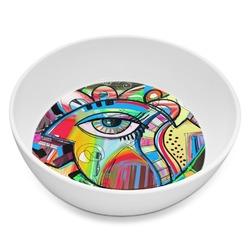 Abstract Eye Painting Melamine Bowl 8oz