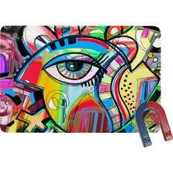 Abstract Eye Painting Rectangular Fridge Magnet