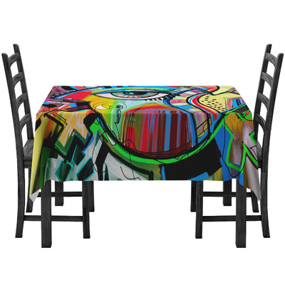 Abstract Eye Painting Tablecloth