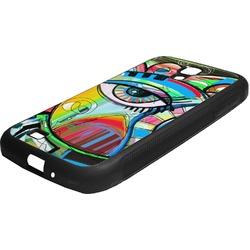Abstract Eye Painting Rubber Samsung Galaxy 4 Phone Case