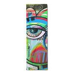 Abstract Eye Painting Runner Rug - 3.66'x8'
