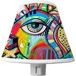 Abstract Eye Painting Shade Night Light