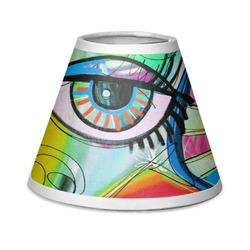 Abstract Eye Painting Chandelier Lamp Shade