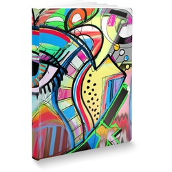 Abstract Eye Painting Softbound Notebook