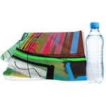 Abstract Eye Painting Sports & Fitness Towel