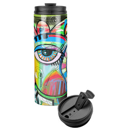 Abstract Eye Painting Stainless Steel Tumbler