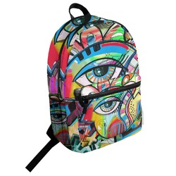 Abstract Eye Painting Student Backpack