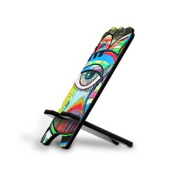 Abstract Eye Painting Stylized Phone Stand