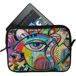 Abstract Eye Painting Tablet Case / Sleeve