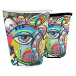 Abstract Eye Painting Waste Basket