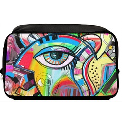 Abstract Eye Painting Toiletry Bag / Dopp Kit