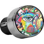 Abstract Eye Painting USB Car Charger
