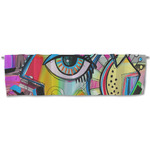 Abstract Eye Painting Valance