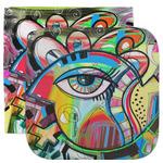 Abstract Eye Painting Facecloth / Wash Cloth