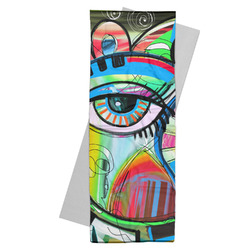 Abstract Eye Painting Yoga Mat Towel