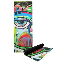 Abstract Eye Painting Yoga Mat