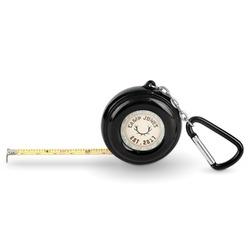 Deer Pocket Tape Measure - 6 Ft w/ Carabiner Clip (Personalized)