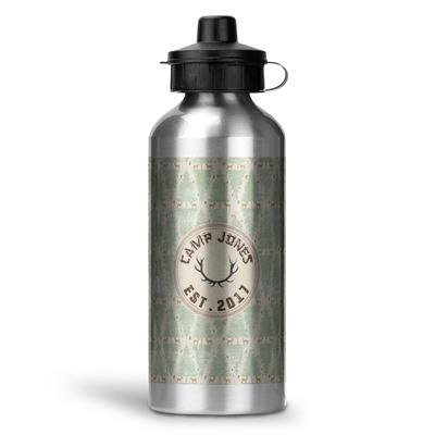 Deer Water Bottle - Aluminum - 20 oz (Personalized)