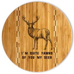 Deer Bamboo Cutting Board (Personalized)