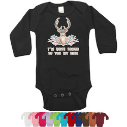 Deer Bodysuit - Black (Personalized)