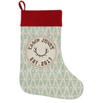 Deer Holiday Stocking w/ Name or Text