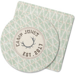Deer Rubber Backed Coaster (Personalized)