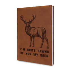 Deer Leatherette Journal (Personalized)