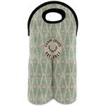 Deer Wine Tote Bag (2 Bottles) (Personalized)