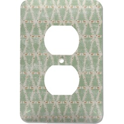 Deer Electric Outlet Plate (Personalized)