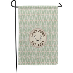 Deer Garden Flag With Pole (Personalized)