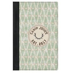 Deer Genuine Leather Passport Cover (Personalized)
