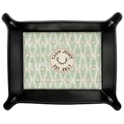 Deer Genuine Leather Valet Tray (Personalized)