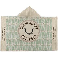 Deer Kids Hooded Towel (Personalized)