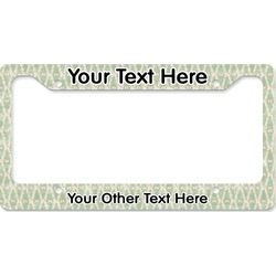 Deer License Plate Frame (Personalized)