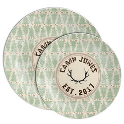 Deer Melamine Plate (Personalized)