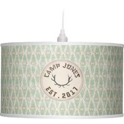 Deer Drum Pendant Lamp (Personalized)