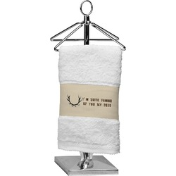 Deer Finger Tip Towel (Personalized)