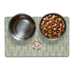 Deer Dog Food Mat (Personalized)