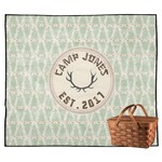 Deer Outdoor Picnic Blanket (Personalized)