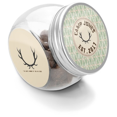 Deer Puppy Treat Jar (Personalized)